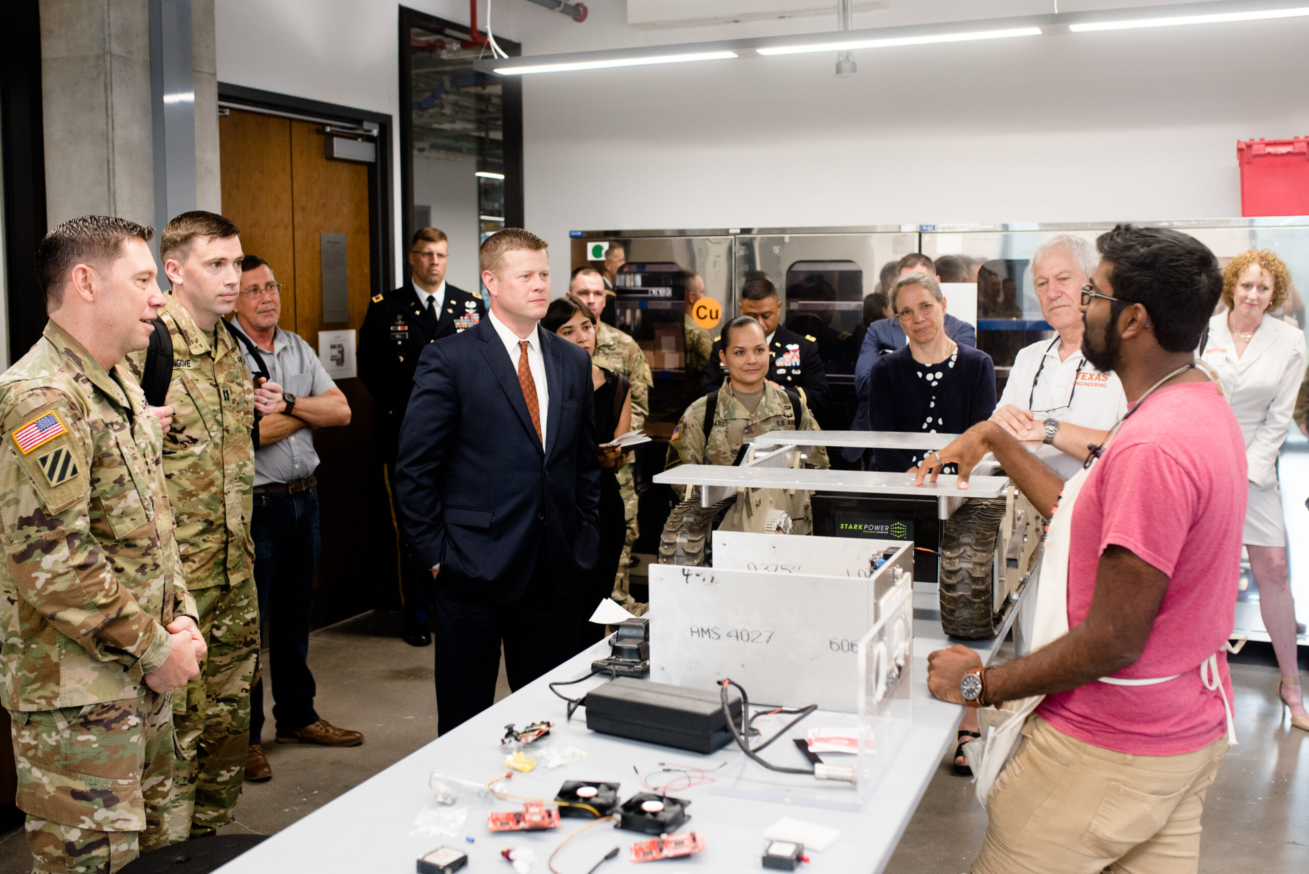 army with students in texas inventionworks