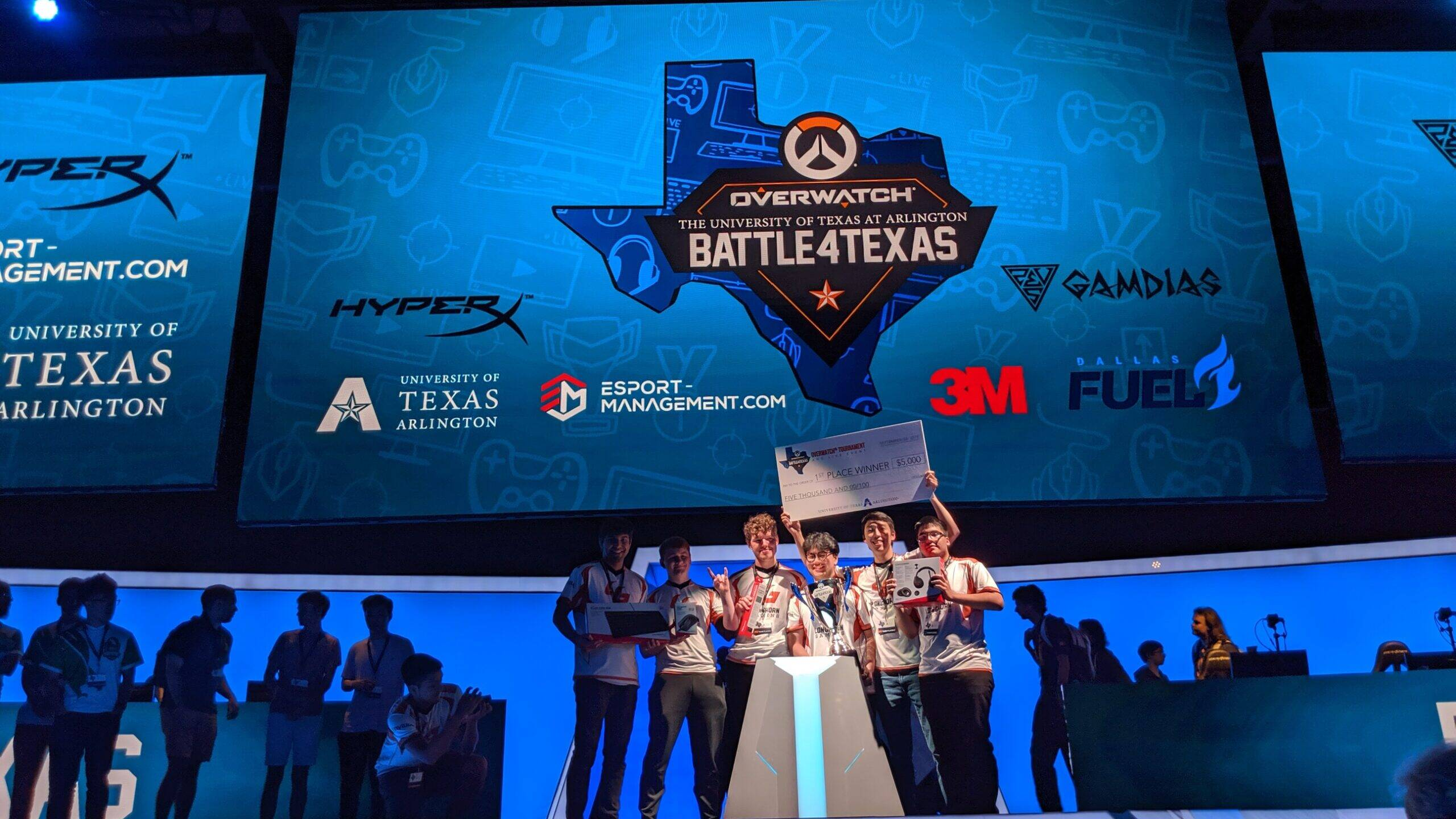 Longhorn Gaming wins Battle4Texas