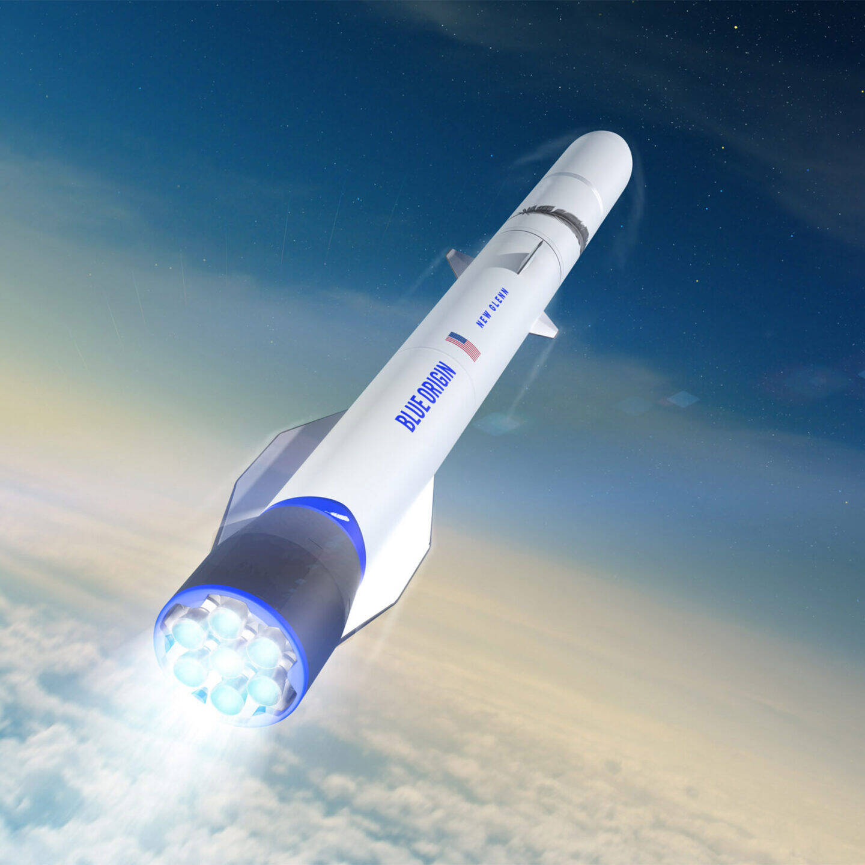 Blue Origin New Glenn spacecraft