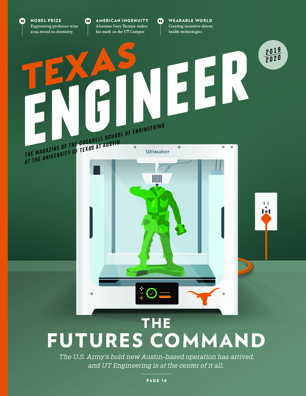 2019 Texas Engineer cover