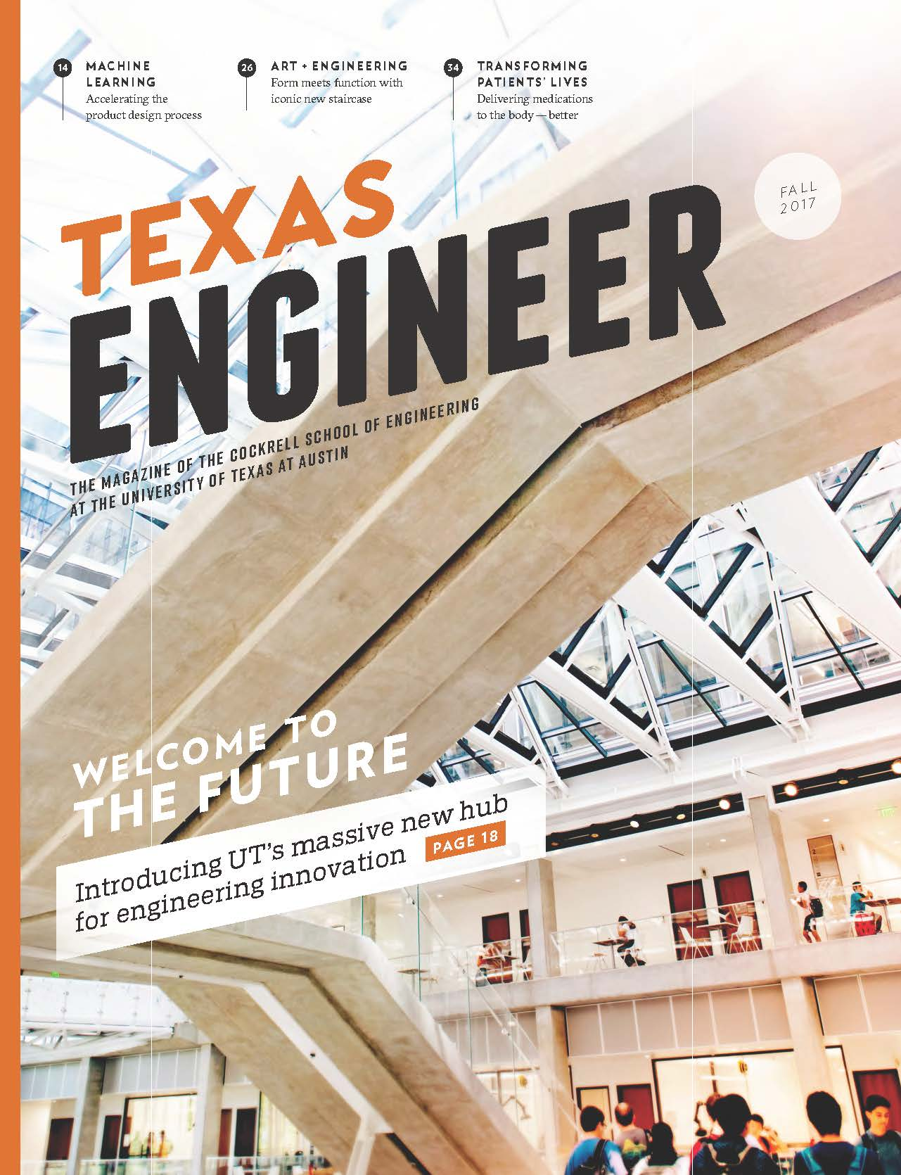 2018 Texas Engineer cover