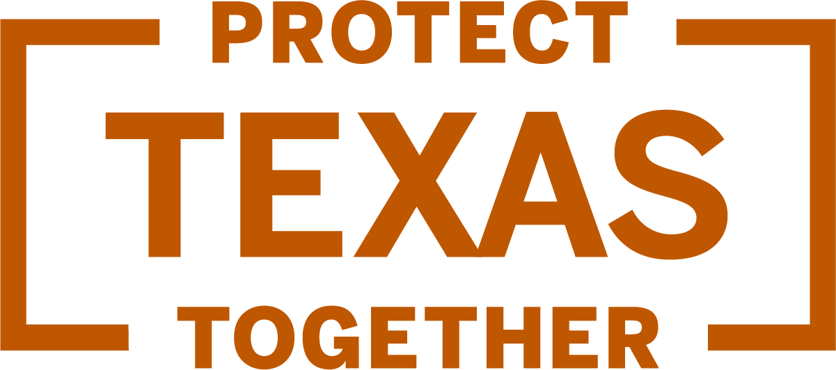 Protect Texas Together logo