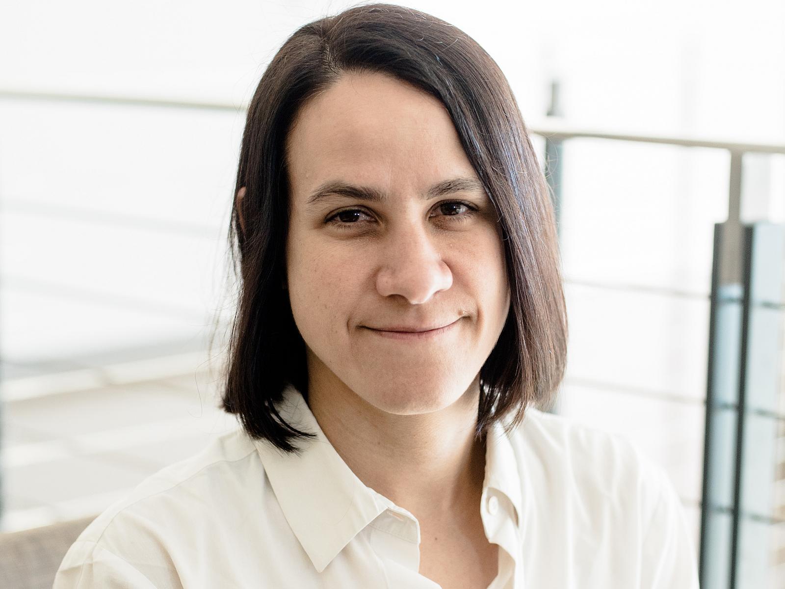 Portrait of Delia Milliron
